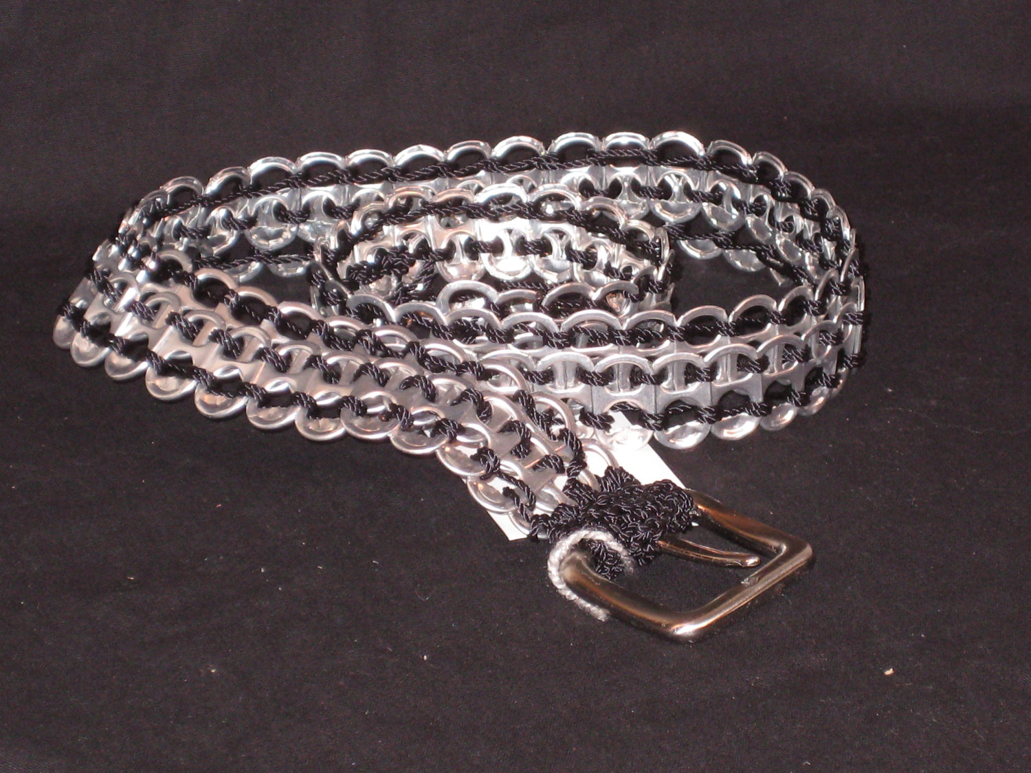 rhinestone soda pop tab belt crafts by design